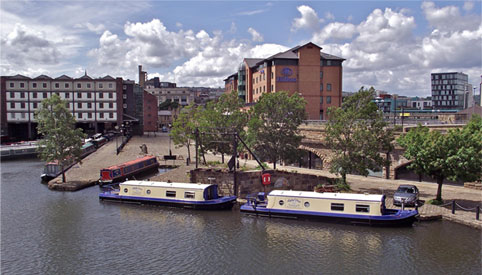 Victoria Quays Sheffield - Houseboat Hotels